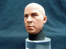 1/6 HOT FIGURE HEAD SCULPT VIN DIESEL ELEVEN TOYS FAST AND THE FURIOUS DOM