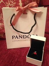Genuine Disney Pandora Snow White Apple With Box & Bag