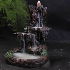 "Resin Backflow Incense Holder ""Mountain Falls"""