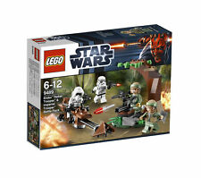 Lego star wars 9489: endor rebel trooper et imperial trooper