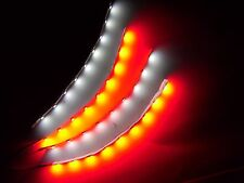 """RC White and Red Underbody glow LED Strip Lights Superbright FPV Quadcopter 6"""""""