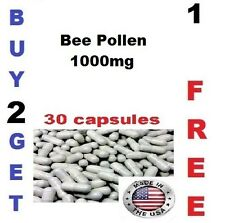 Bee Pollen 1000mg  Weight Loss Fat Burner -EFA, B-complex, Vit A,C,E