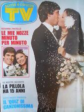 TV Sorrisi e Canzoni  40 1975 Bud Spencer Cardinale & Vitti Gianni Nazzaro [C70]