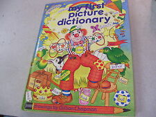 Amazing 1985 Children's ''My First Picture Dictionary'' Derrydale Publisher