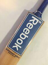 Reebok Supershot - 1st Grade English Willow Cricket Bat + Size 6 + Free Ship