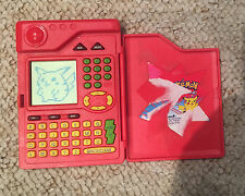 POKEMON POKEDEX ORIGINAL 1998 ELECTRONIC TOY TIGER ELECTRONICS RED TESTED RARE!