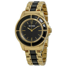 Versus by Versace Tokyo Black Dial Two-tone Ladies Watch AL13SBQ709A079