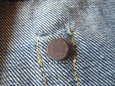 Vtg 1947 Levis 501XX Big E Selvedge Red Line Hidden Rivet Denim Jeans NOT LVC