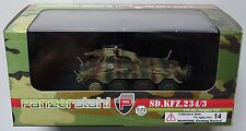 PANZERSTAHL 88015 WWII German Sd.Kfz.234/3 Hungary 1945 Fertigmodell in 1:72