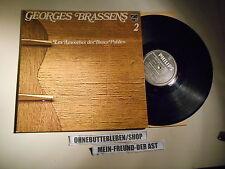 LP Chanson Georges Brassens - 2 Les Amoureux Des Bancs Publics (12 Song) PHILIPS
