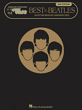 Best of the Beatles 2nd Edition Sheet Music E-Z Play Today Book NEW 000101498