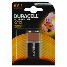 Duracell plus power 9V batterie-duralock long lasting power non rechargeable