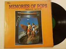 Memories of Pops Original Artists [Vinyl LP Record] 1982