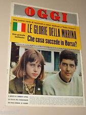 OGGI=1964/18=BRIGITTE PEU DUVALLON=VIA MONTENAPOLEONE MILANO=GIUSEPPE BERTO=