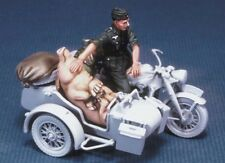 Legend Productions 1:35 WWII German Motorcycle rider with a pig - Resin  #LF0029