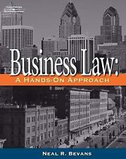 Business Law: A Hands-On Approach (West Legal Studies), Neal R. Bevans, Good Boo