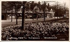 Bournville. Daffodil Time, The Green by A.E.Creed.