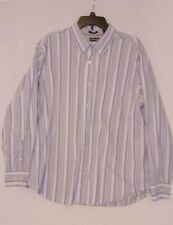 St Johns Bay  Plaid Brushed Flannel Cloth Shirt xl striped multi color