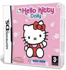 NINTENDO DS 3DS HELLO KITTY DAILY * KOMPLETT DEUTSCH ** Neuwertig
