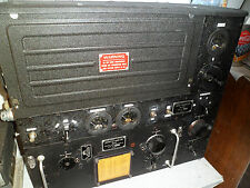 Vintage 1940s BC375 Military Transmitter With SCR287/TU10B Tuner WW2 Signal Corp