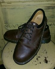 VINTAGE DR MARTENS MENS BROWN LEATHER CASUAL SHOES UK 13 US 14 M OXFORD SHOES