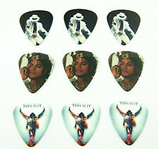 10pcs 0.46mm Two Sides Musical Accessories DIY Michael Jackson Guitar picks