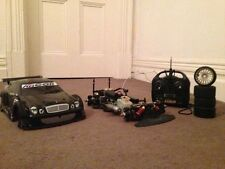 KYOSHO Super Ten FW-04 Nitro R/C Car - MERCEDES - GS15R ENGINE FULL KIT + SPARES
