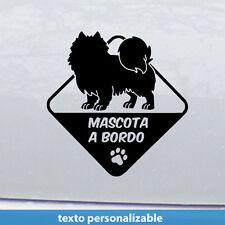 samoyedo mascota Vinilo adhesivo Pegatina Sticker coche moto