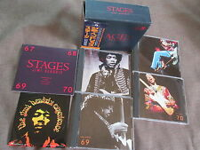 JIMI HENDRIX Stages JAPAN 4CD BOX SET POCP-2161~4 w/OBI+STICKER+64-page Booklet
