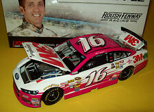 Greg Biffle 2013 3M Innovation Pink #16 Roush Ford Fusion 1/24 NASCAR Diecast