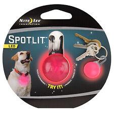 Nite Ize® Spotlit Pink LED Carabiner Light