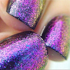 "Polish Me Silly ""Kaleidoscope"" Flakie Topcoat Polish glitter nail polish"
