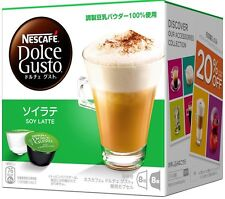Nestle Nescafe Dolce Gusto Soy Latte Flavor Capsules Pods 16P