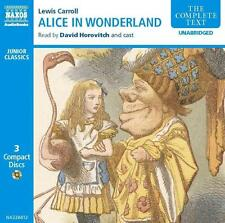 Carroll-ALICE 'S ADVENTURES IN WONDERLAND * 3 CD * NUOVO * horovi