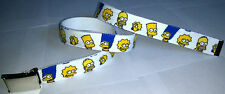 The Simpsons Belt Buckle Cartoon TV Show DVD Comic Con Animation Book Homer Bart