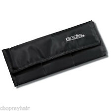 Andis Folding Detachable Blade Traveling Soft Case #12425; Holds up to 9 Blades