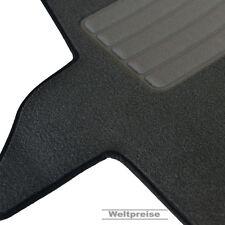 AKTION Velour Fußmatten für VW T5 Multivan 2 Einzelsitze ab Bj.2003 - 2015 grau