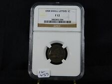 New listing 1858 Flying Eagle Cent - Ngc F12 (16-457)