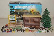 BOITE REF 3638 ZOO PARC FORET ANIMAUX PLAYMOBIL PLEIN DE MODEL EN BOUTIQUE