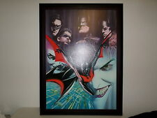 Batman: Today and Tomorrow Beyond Alex Ross Signed 31/100 Warner Bros COA Giclee