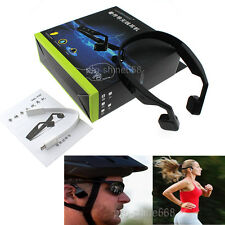 Bone Conduction Wireless Stereo Sport Bluetooth Headphones Open Headset with Mic