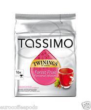 Tassimo Twinings Tè Frutti di Bosco-Confezione da 5 (5 x 16 T-Disc)