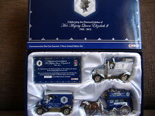 CORGI QUEEN ELIZABETH SET SOUVENIR DIAMOND JUBILEE SET DJ1003 3 PIECE SET BNIB