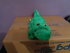 2003 LEGOLAND THEME PARK FAMILY VACATION GREEN ALLIGATOR CROCODILE PLUSH DOLL