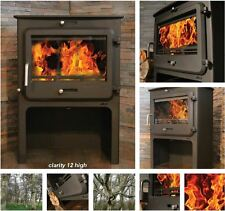 Ekol Clarity 12 High, 12 KW Multi-fuel Stove Defra Approved