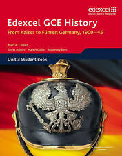 Edexcel GCE History A2 Unit 3 D1 from Kaiser to Fuhrer: Germany 1900-45 by Pear…