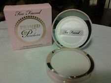 TOO FACED Primed & Poreless Pressed Powder-translucent finishing veil 0.35oz NIB