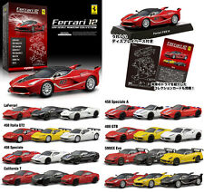 KYOSHO 1:64 FERRARI Minicar Collection 12 complete set of 24 FXX K