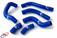 HONDA CRF 450 R 2015-2016 HIGH PERFORMANCE SILICONE RADIATOR HOSES BLUE