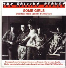 "ROLLING STONES ""Some Girls - One Hour Radio Special"" 10 Track 54 Minutes CD"
